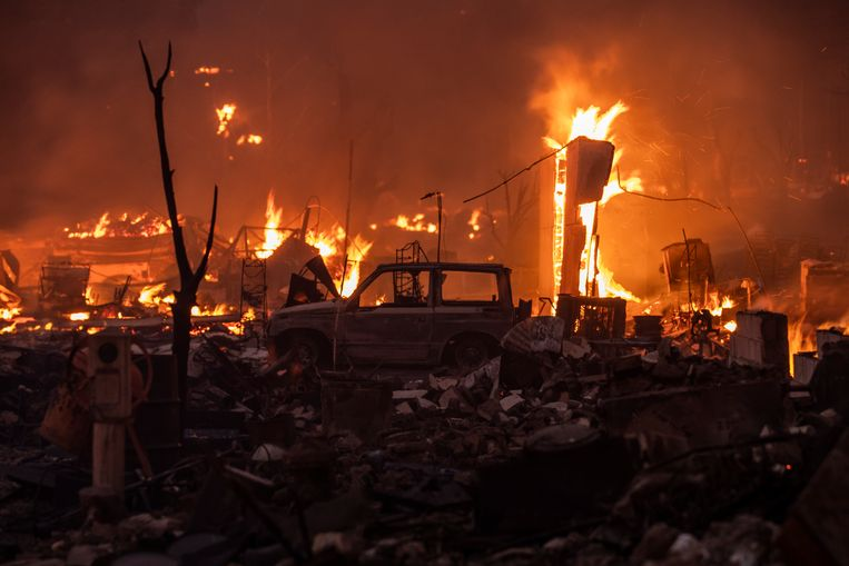 Greenville almost caught fire last week.  Image Getty Images