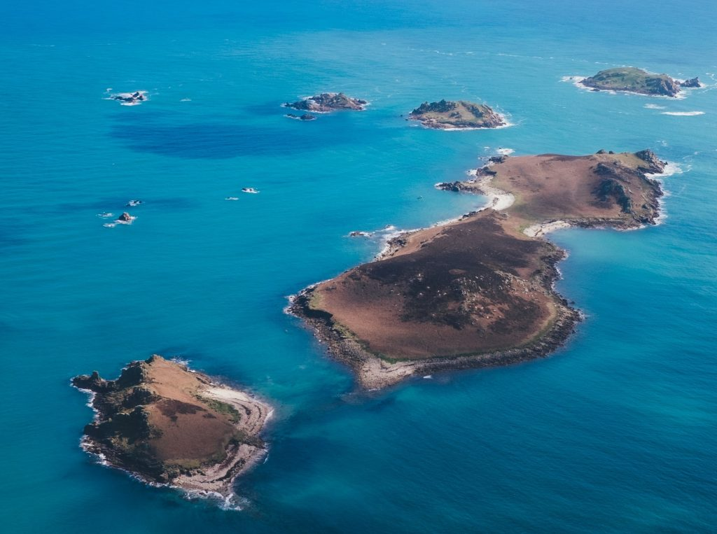 Do you know the Scilly Islands?  Tropical and exotic part of England