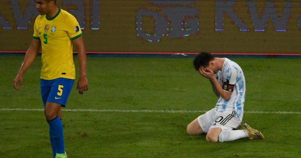 Messi wins the first prize with Argentina after beating Brazil in the Copa America final    Finally awarded Messi with Argentina