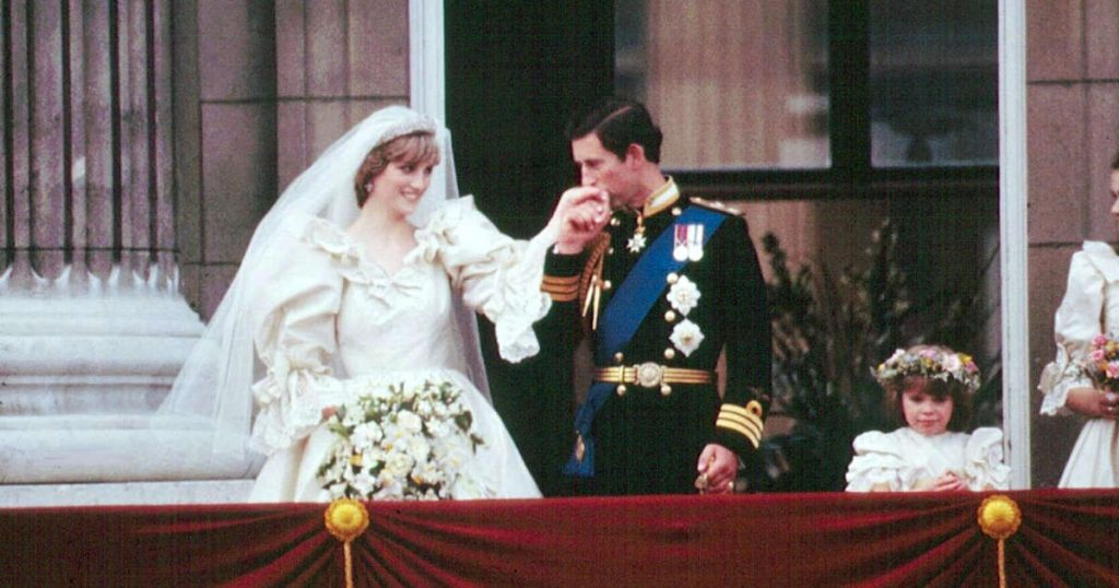 A piece of the forty-year-old's wedding cake from Princess Diana fetches €2,185