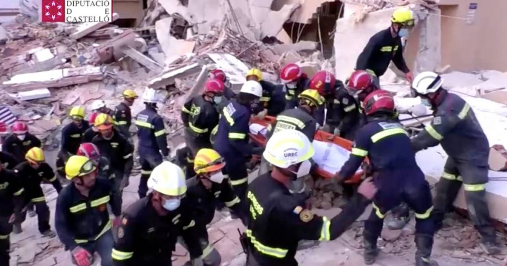 A second body was found under the rubble and an apartment collapsed in a Spanish seaside resort |  Abroad