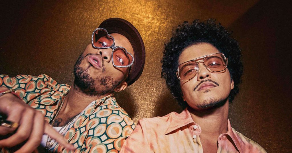 Bruno Mars and Anderson will be released.  Paak Silk Sonic album January 2022