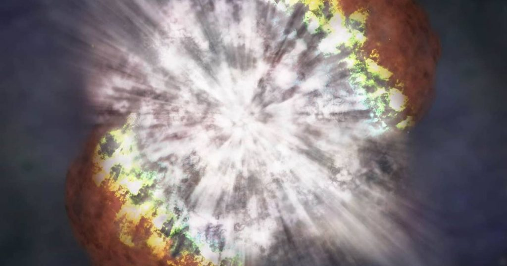 Champagne supernova: first detailed image of a star that just exploded    Sciences