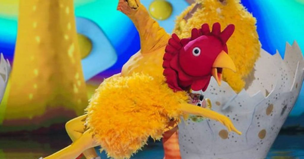 England in the Fist of the Masked Dancer: This 'sports legend' was the rubber chicken |  to watch