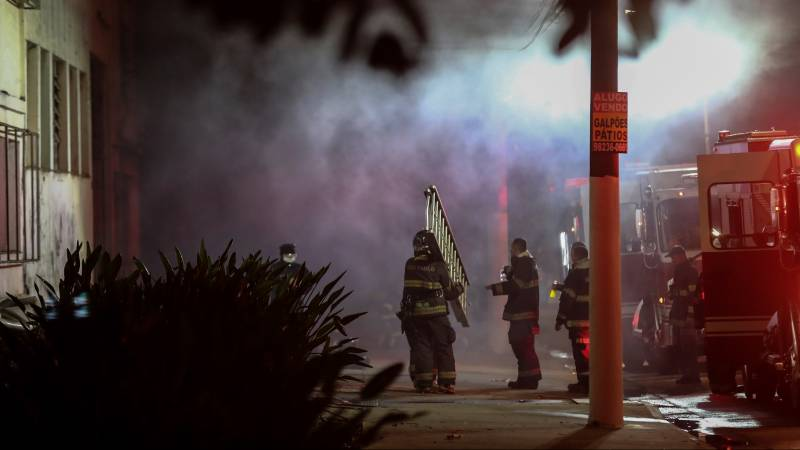 Fire in Cinemadeca, Latin America's largest film collection