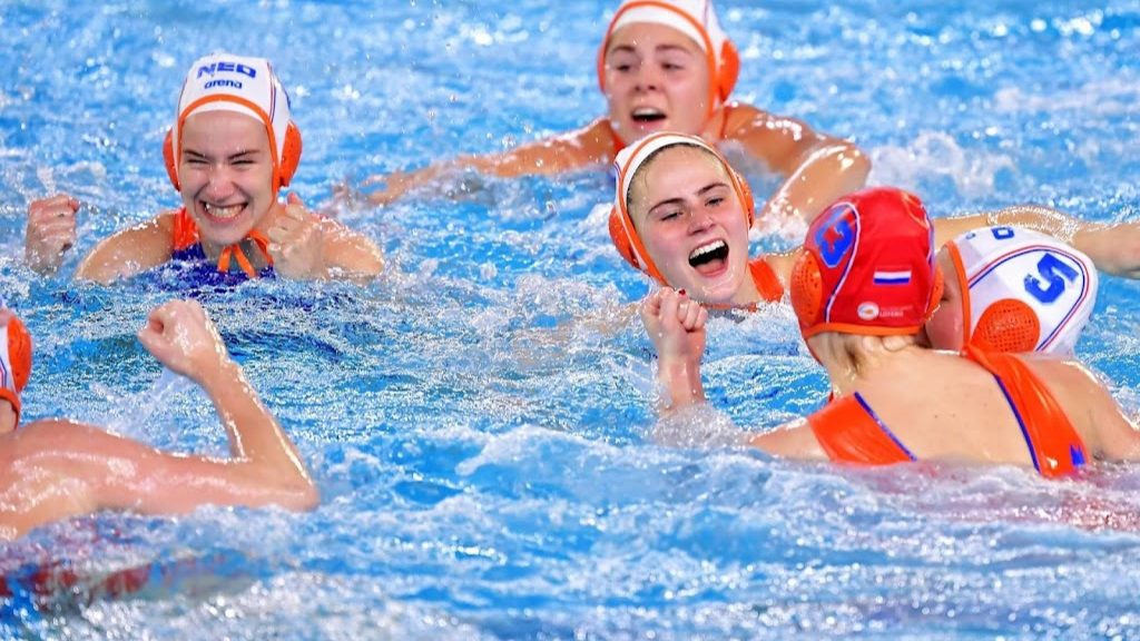 For water polo players, the games actually start now
