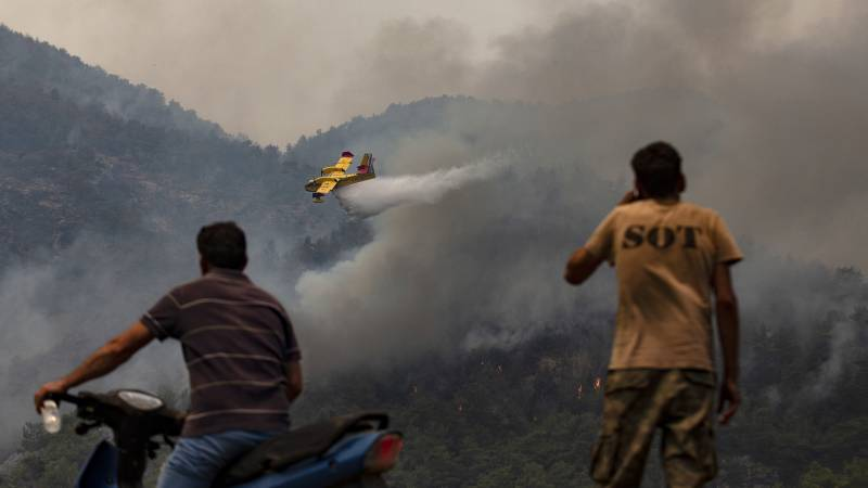 Forest fires still ravage southeastern Europe: the danger is far from over