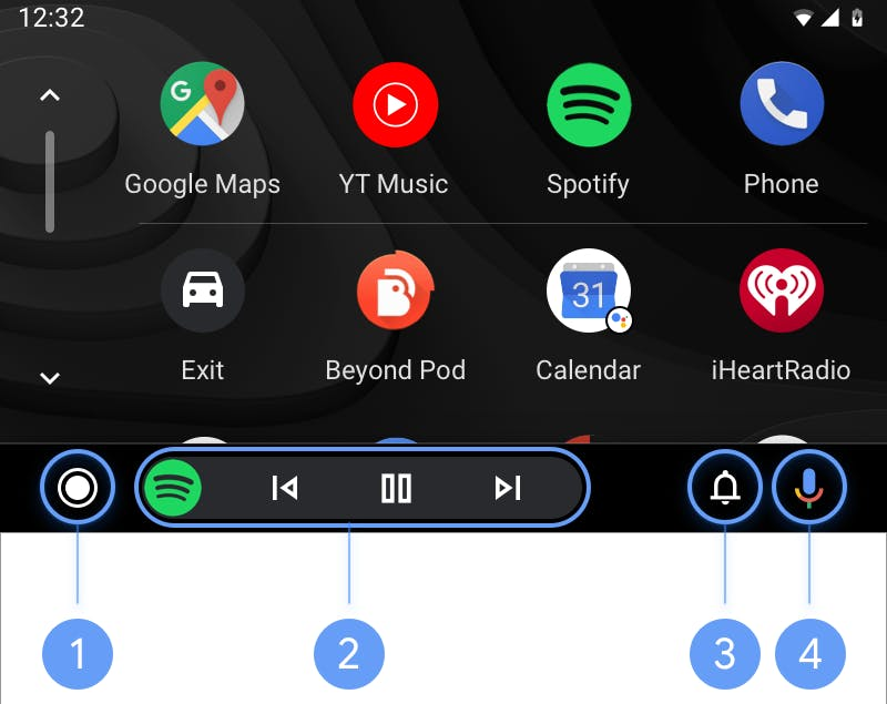 Install Android Auto apps, that's how it works