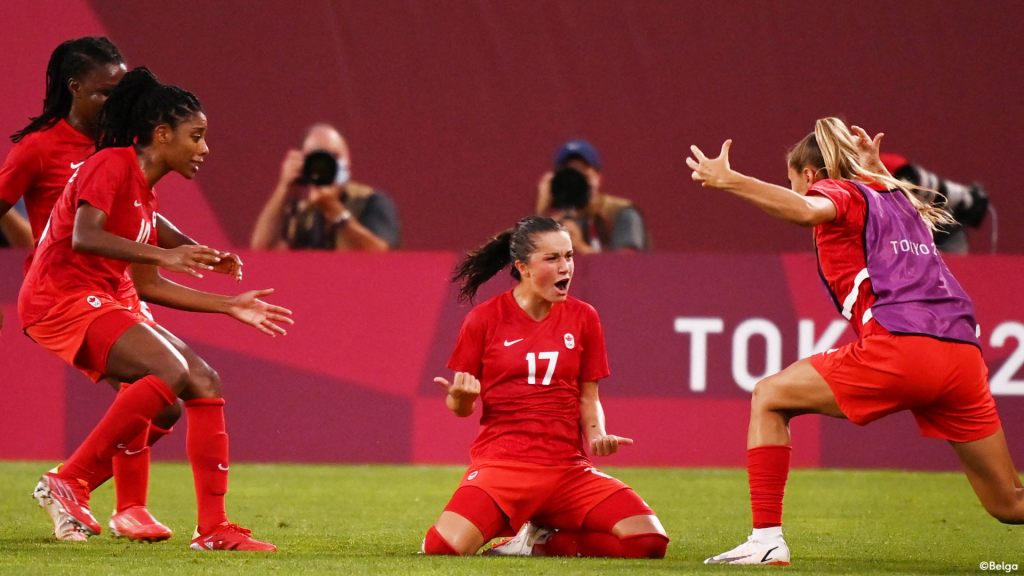 On the way to the final against Sweden, Canada defeated the United States for the first time in 20 years at the Olympics