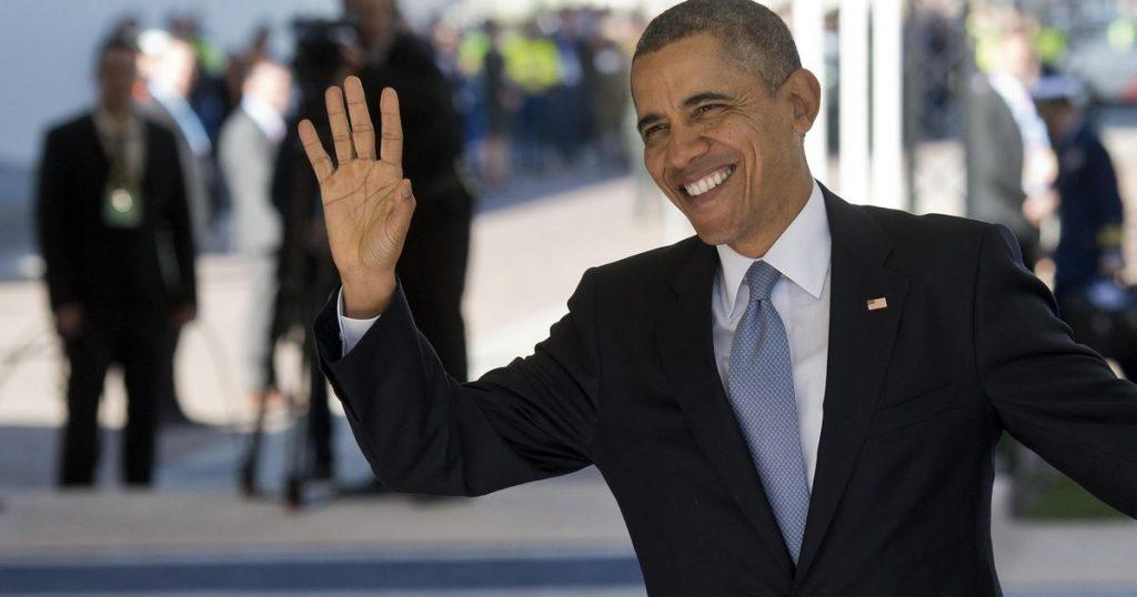 Parade of stars on Barack Obama's 60th birthday    stars