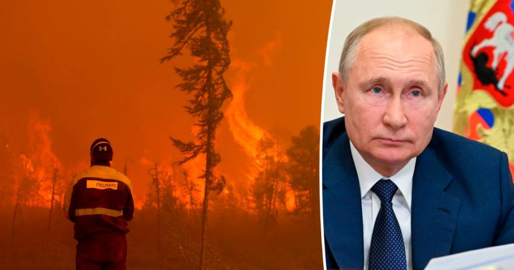 """Russian President Putin worried about """"unprecedented"""" natural disasters 