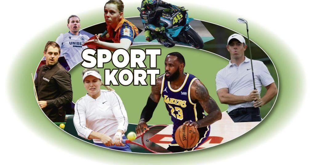 Sportcourt: Golfer Besling is 13th in Switzerland |  sports