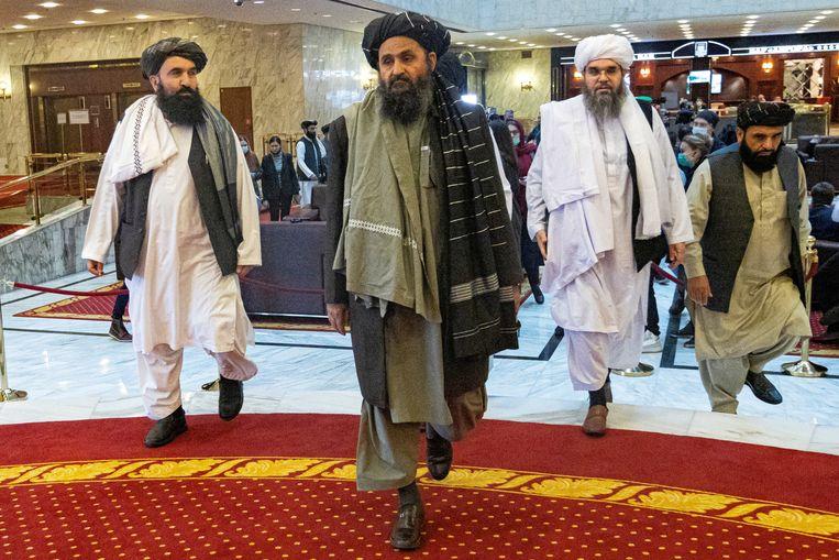 Taliban leader Baradar returns victorious as US ramps up Kabul evacuation