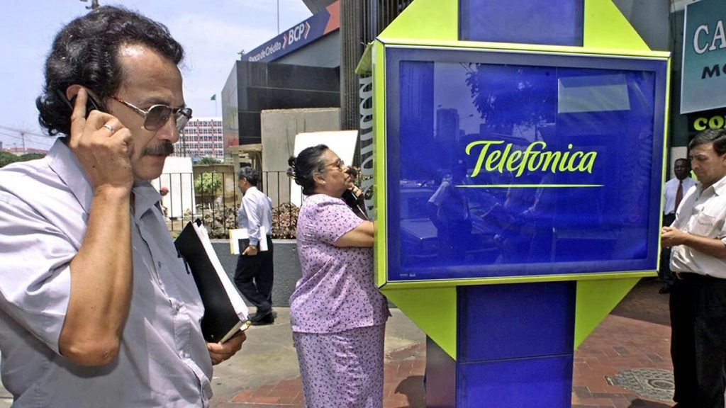 Telefenica Telefenica makes payments from South America via the Netherlands - follow the money