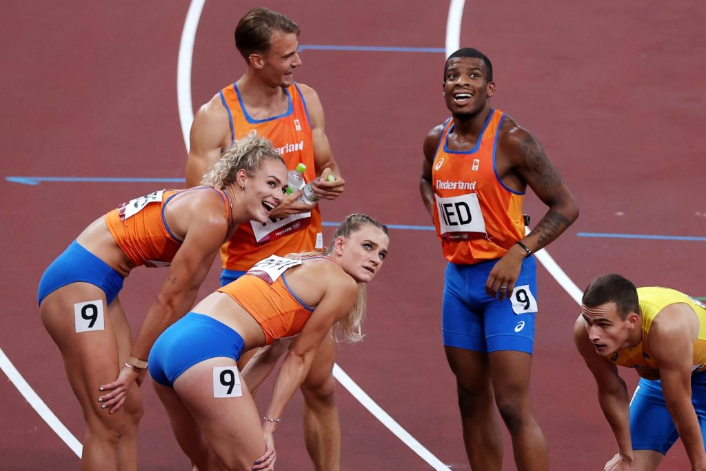 The American relay team is not disqualified, the Netherlands sign a protest