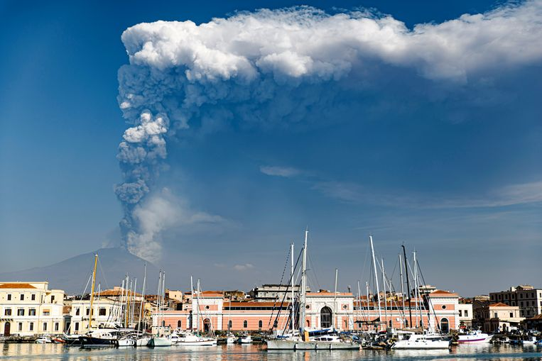 The Sicilian Etna volcano is growing at a rapid pace and has never been this big before