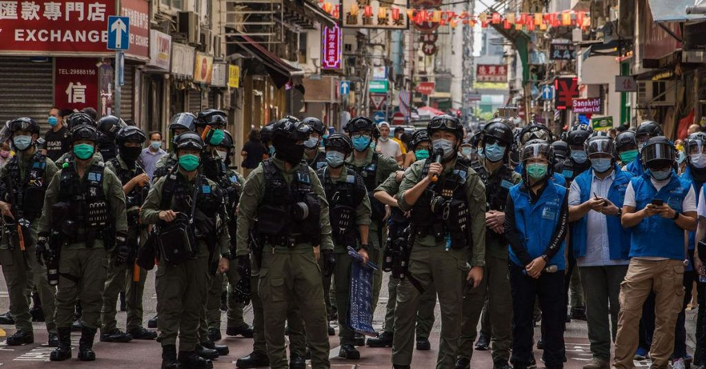 The United States provides temporary shelter for residents of Hong Kong