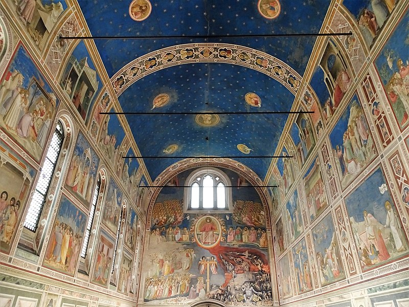 The frescoes of Padua are considered a world heritage