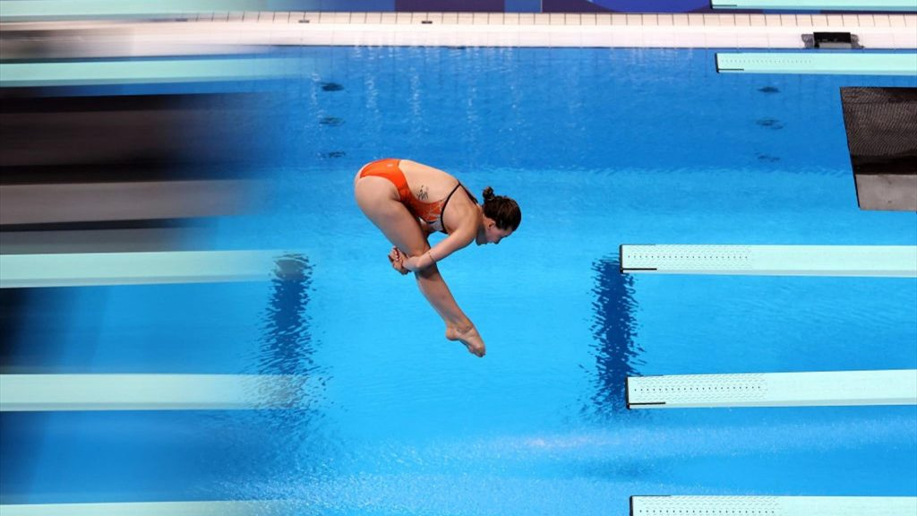 Tokyo 2020 |  Handsome 5th place for Inge Jansen in the diving final