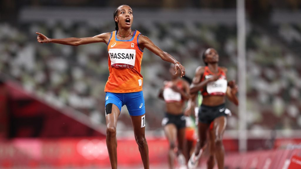 Tokyo 2020 |  Sivan Hassan impresses with gold at a distance of 5000 meters