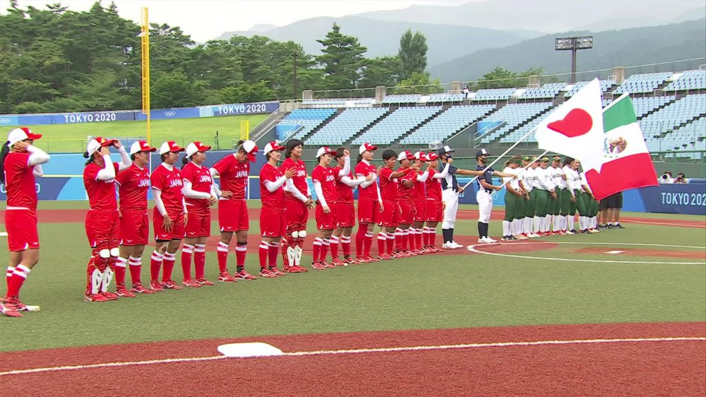 Tokyo 2020 |  Softball Lights July 22 - Japan undefeated after extra round