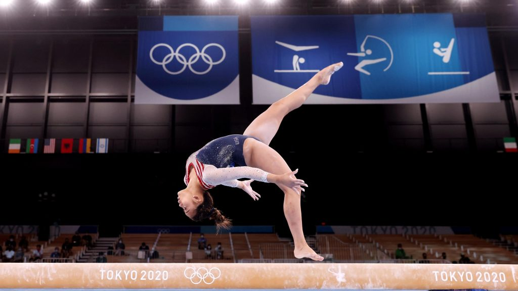 Tokyo 2020    Sonisa Lee wins America's gold again in the all-around final, disappointing Lake Weavers