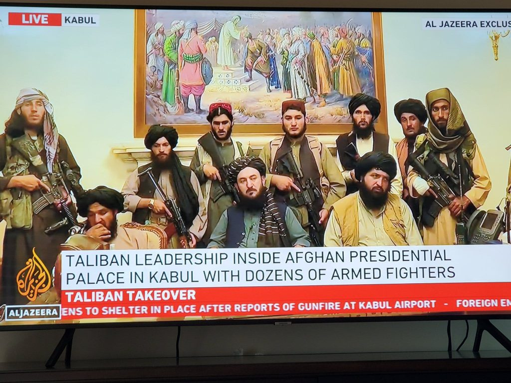 Which country will be the first to recognize the new government of Afghanistan?