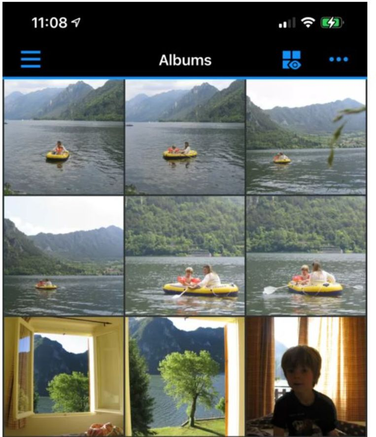 Photo app from Synology Beeld de Volkskrant