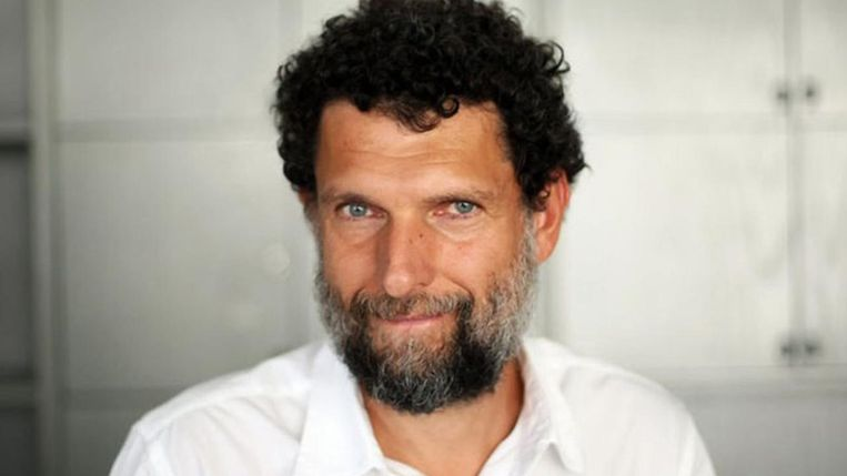 Osman Kavala is accused of trying to overthrow Erdogan's government.  picture