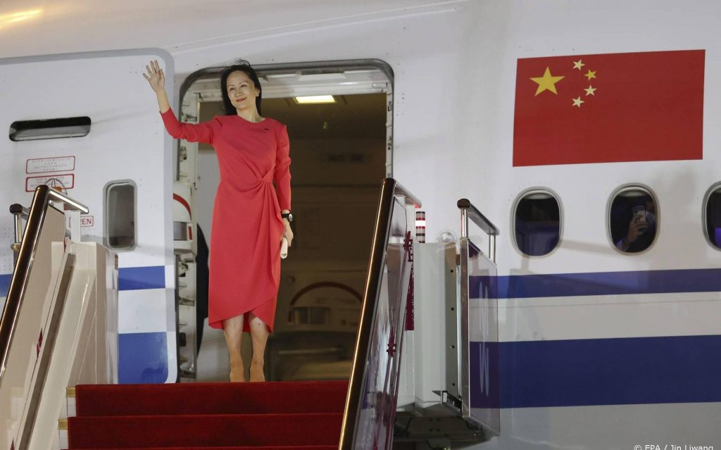 Launched Huawei's biggest woman was hailed as a champion in China