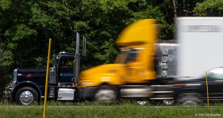 The DAF mother allows trucks to drive autonomously between Houston and Dallas