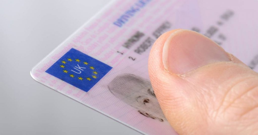 A British man is not allowed to drive further in Gronau after his driver's license became invalid due to Brexit.
