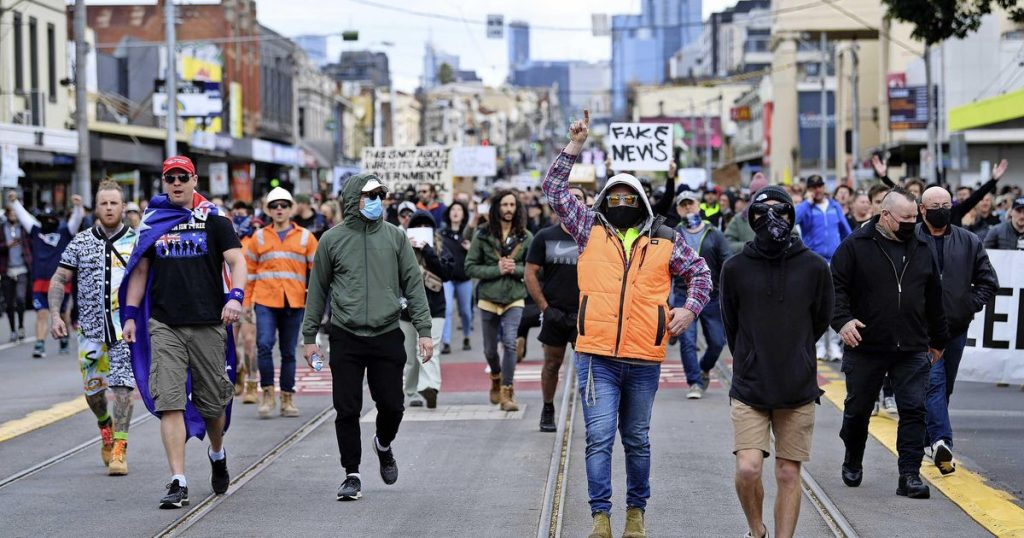 Arrests amid strong protests in Australia against lockdowns |  Abroad