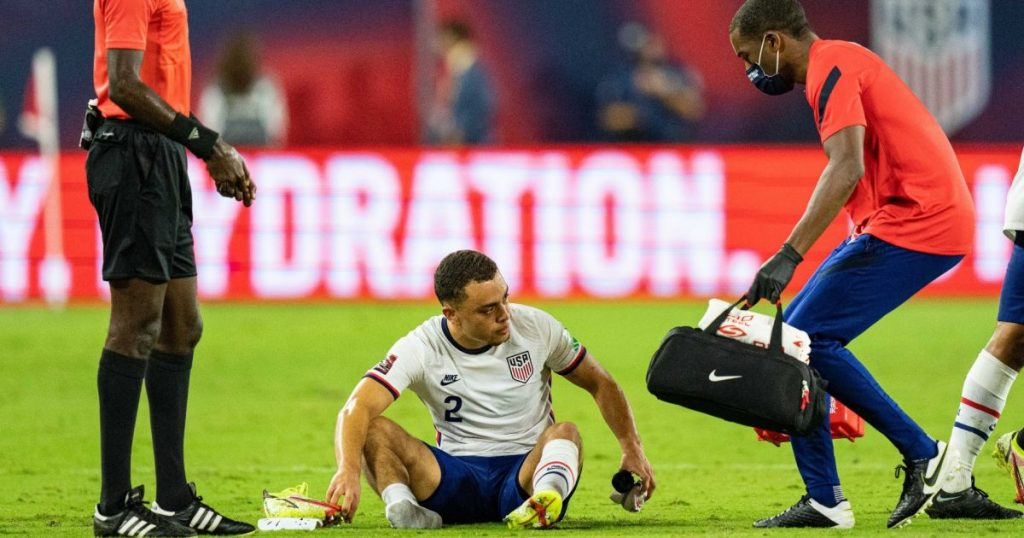 Bad news for Barca from the United States: Test ankle injury in international match