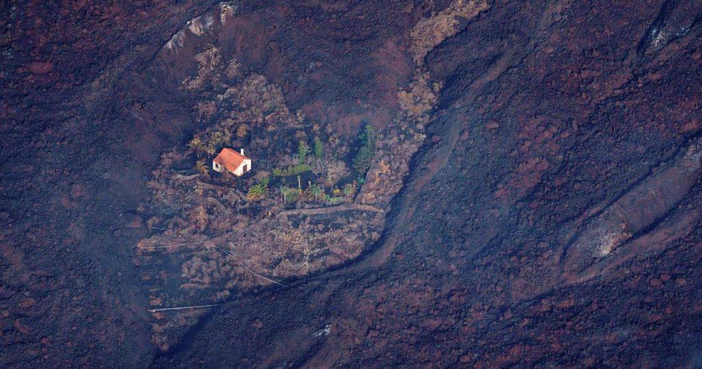 Dutch 'Wonderhuisje' that survived La Palma volcano spread all over the world    Instagram
