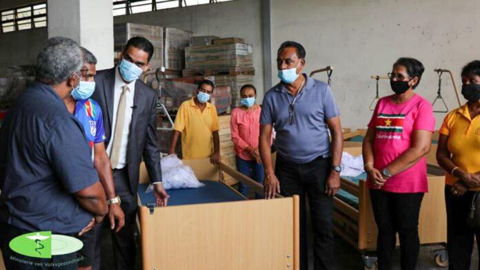 Friends group Himmat-OHM donates public health hospital beds