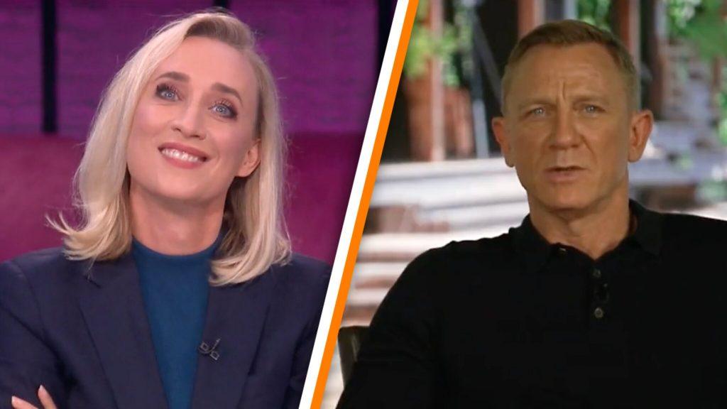 Jinek's cruel interview with Daniel Craig produces hilarious LuckyTV