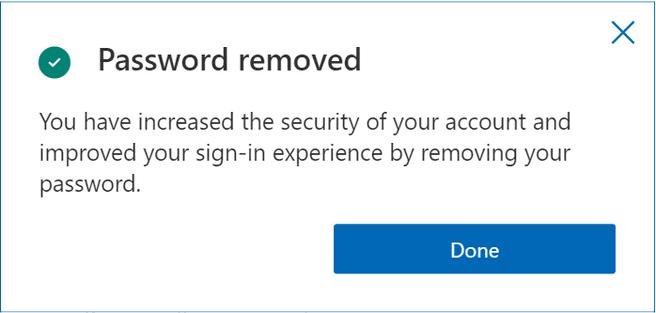 remove password