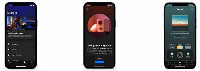 Philips Hue Spotify September 2021