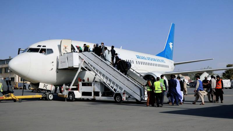 The first scheduled flights from Kabul airport began 'without working radar'