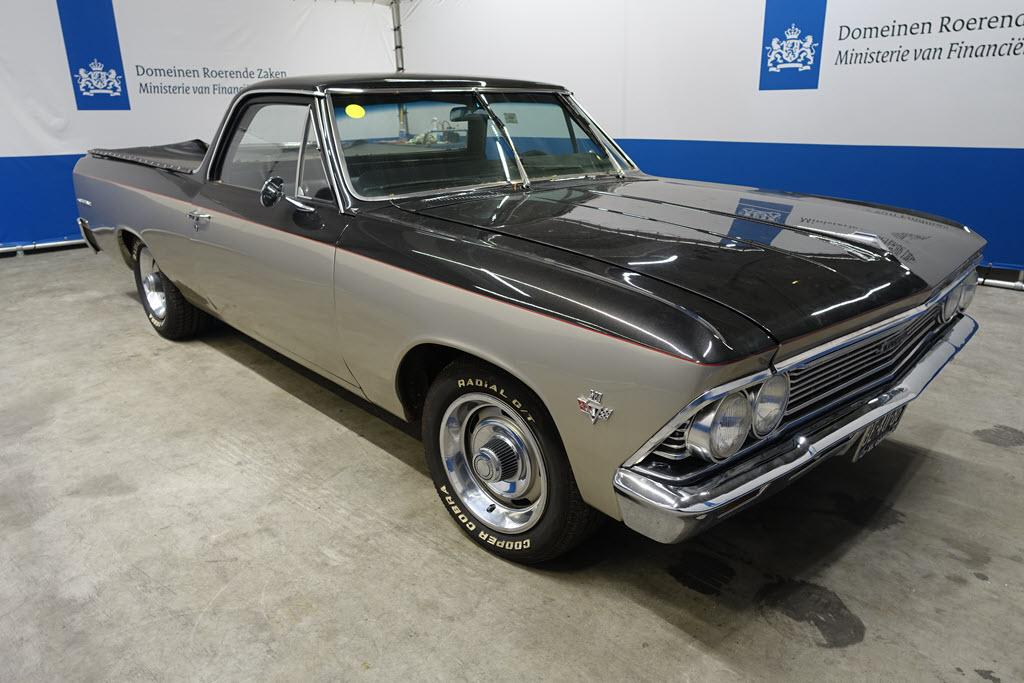 The Dutch government offers the Chevrolet El Camino