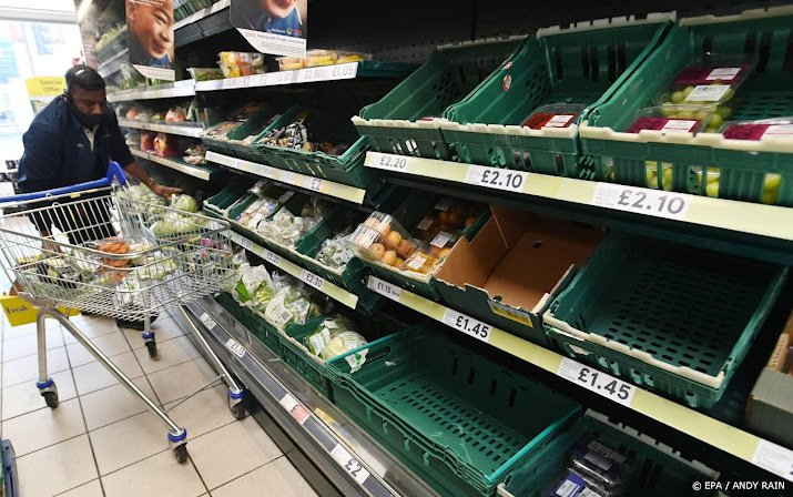 The British government wants to allay fears about empty shelves at Christmas