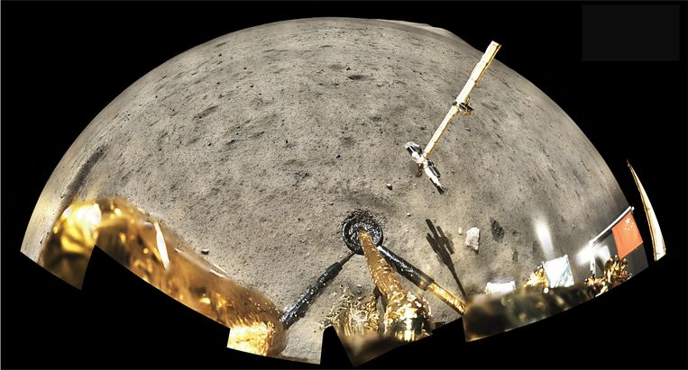 Moon rocks transported to Earth disrupt the solar system's timeline