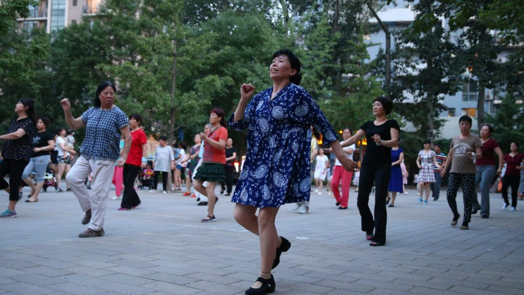 Remote control must silence dancers grandmothers China