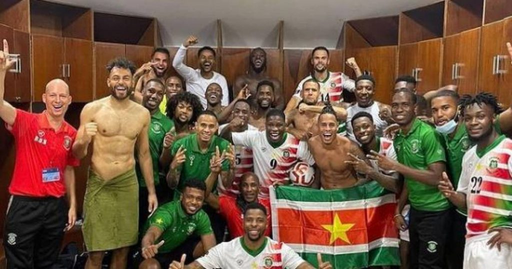 Summary    Suriname crushes Bermuda and continues its dream of the World Cup    sports