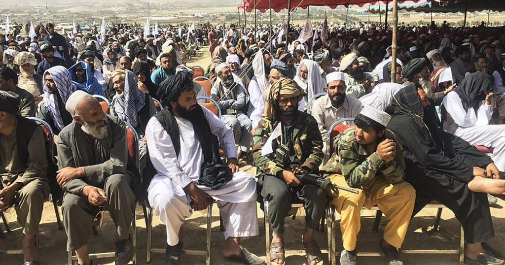 Taliban celebrate seizing power with demonstration near Kabul |  Abroad