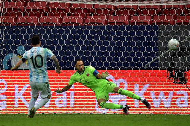 The dream final between Argentina and Brazil in the Copa America - international football