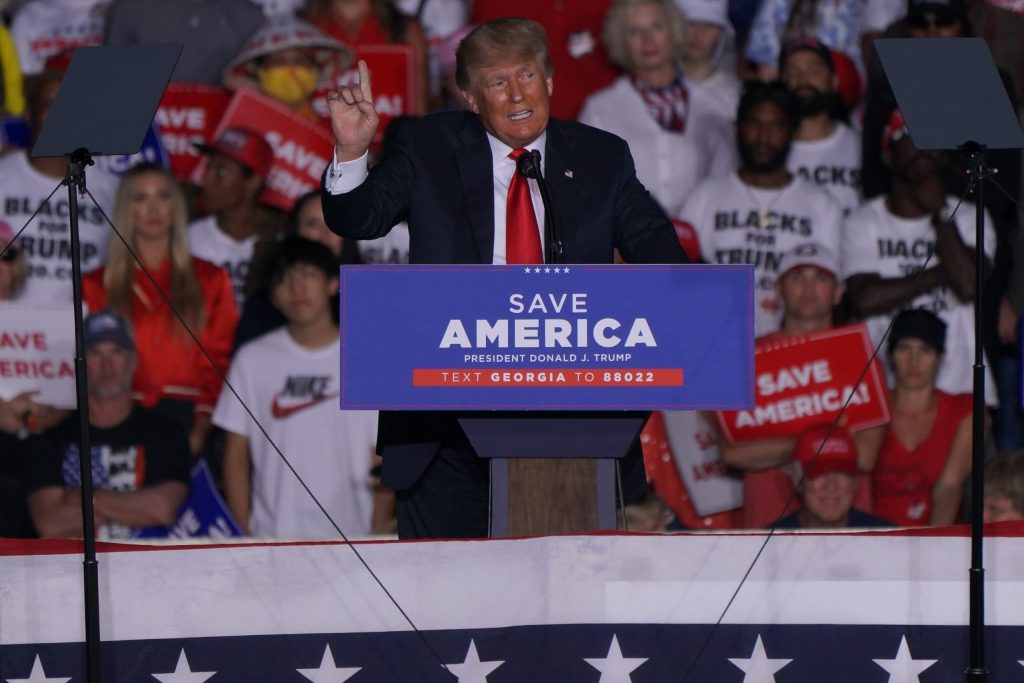 Will Trump be President of the United States again?  'He can hit anything'